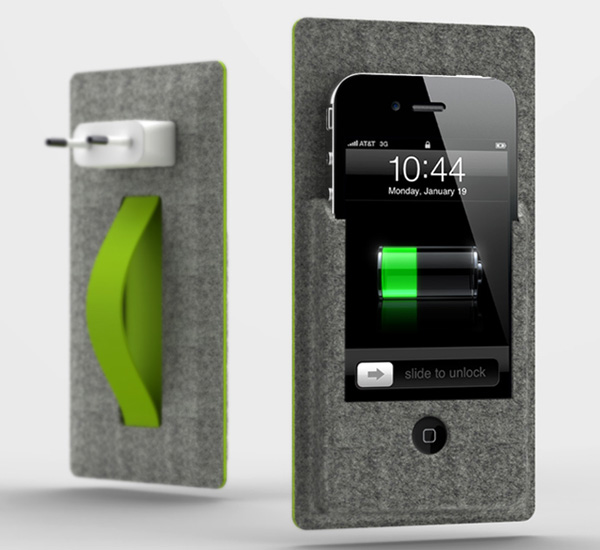 Iphone Gets Wallmounted And Docked Yanko Design