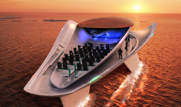 Allochroous - Yacht by Ezgi Aksan