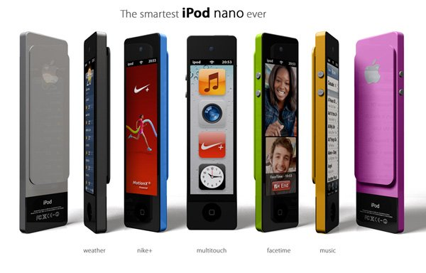 iPod Nano Touch Concept by Enrico Penello
