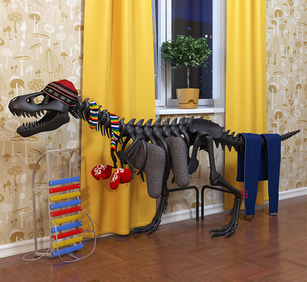 Thermosaurus Radiator by Art Lebedev Studio