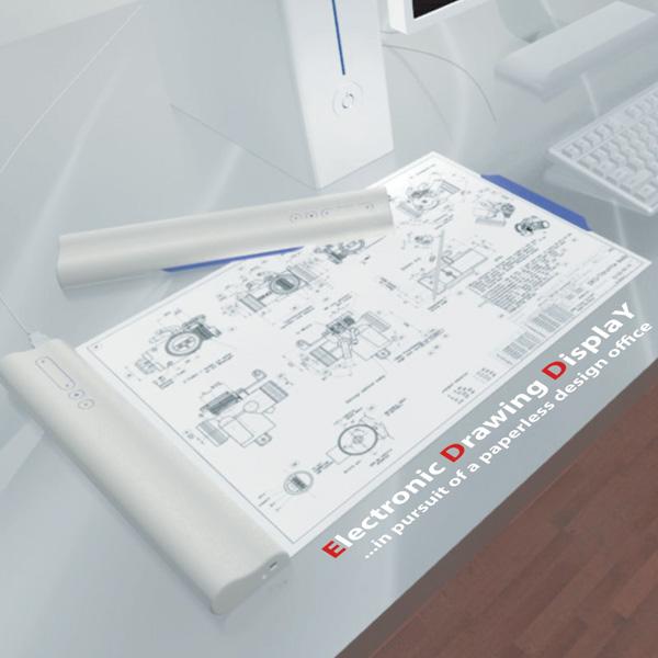 """""""EDDY""""…το ηλεκτρονικό χαρτί για να δείξετε τα σχέδιά σας!"""