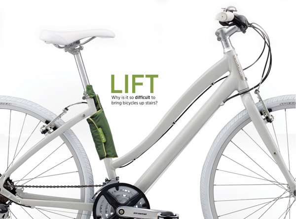 Lift - Bicycle Sling by Samantha Del Rosario