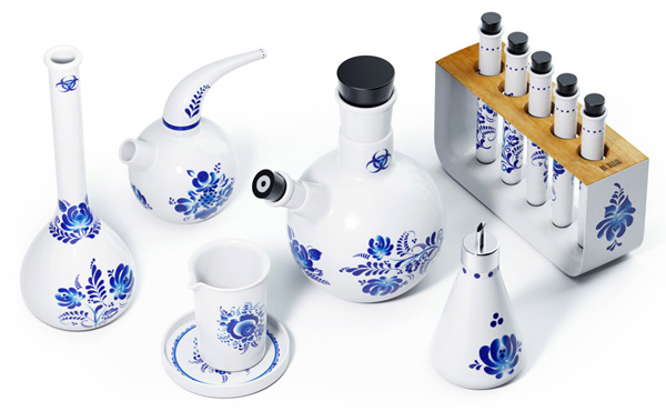 Chemicus – Fine Ceramics Tea Set by Art Lebedev Studio