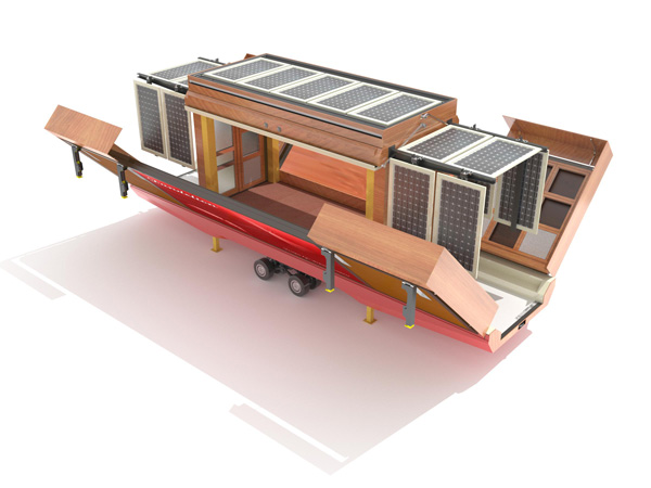 Amazing Modern Mobile Home Yanko Design