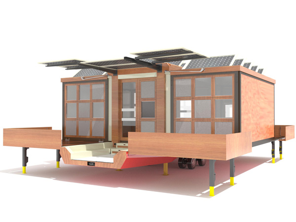 amazing modern mobile home yanko design
