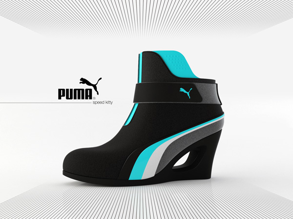 Puma Speed Kitty - Shoe Concept by Adam Nagy