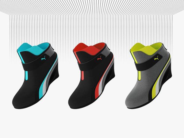 Sporty High Heels   Yanko Design