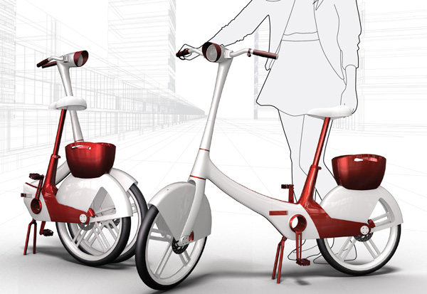 Velo Chic - Bicycle by Raymon Chic