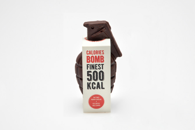 Calorie Bomb - Chocolate Grenade by Raphael Volkmer