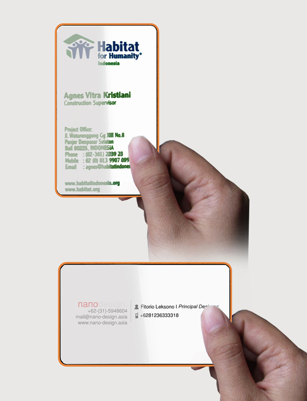 Business cards of the future yanko design share colourmoves