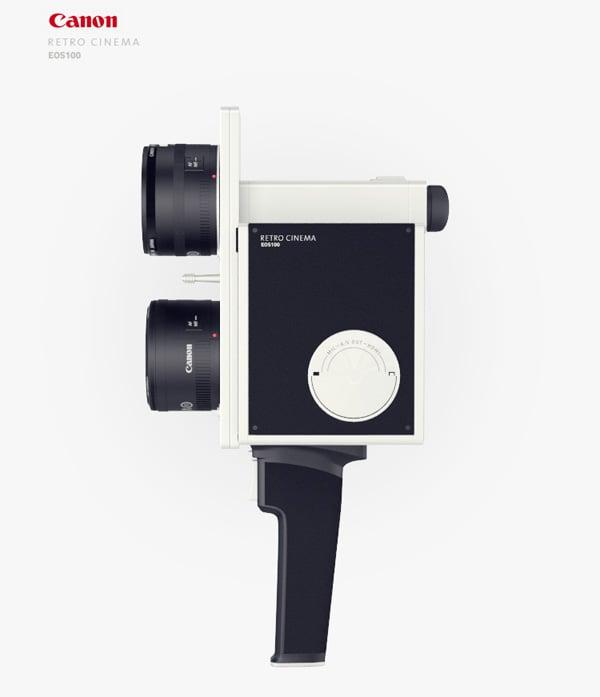 Canon Retro Cinema by Maxim Mezentsev & Aleksandr Suhih