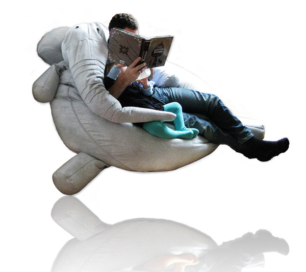 Tanto - Bean Bag Chair by Conceptual Devices