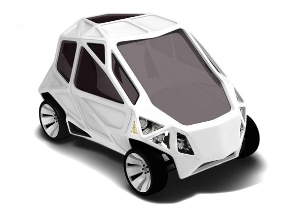 EXO - Concept Car by Mark Beccaloni & Mauro Fragiotta