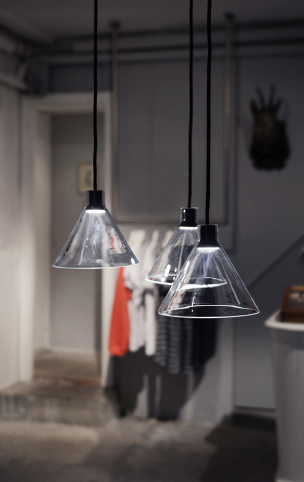 Cone Lamp by Bureau Puree
