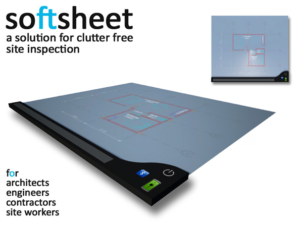 SoftSheet – Foldable Electronic Sheet for Architects by Gautham Varma