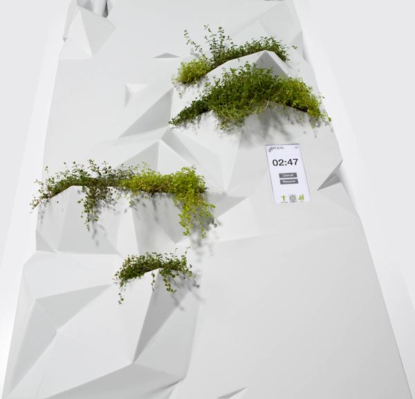 Arceas - Exercise / Planter Combo by Yoann Legaignoux, Simon Viau, & Thibaut Rouganne