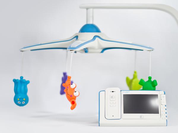 Aegis - Baby Monitor/Mobile Combination by Denny Tsai