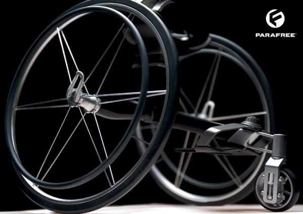 Parafree - Wheelchair Concept by Felix Lange