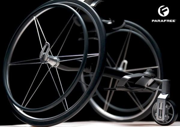 Parafree - Wheelchair Concept by Felix Lange