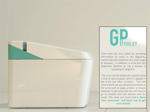GP Toilet by Lucy Jung, Do Hyung Kim, Jee Young Kim & Green Kim