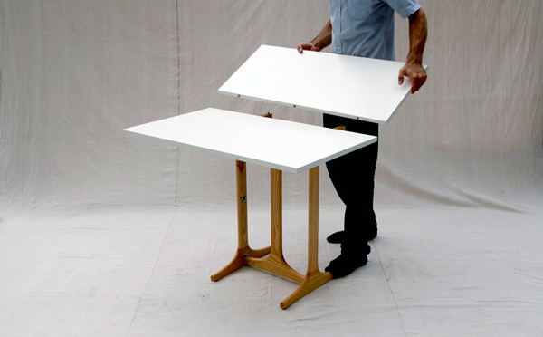 3 Style Table by David Koch