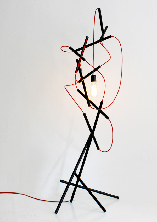 After Image Floor Lamp by Monocomplex
