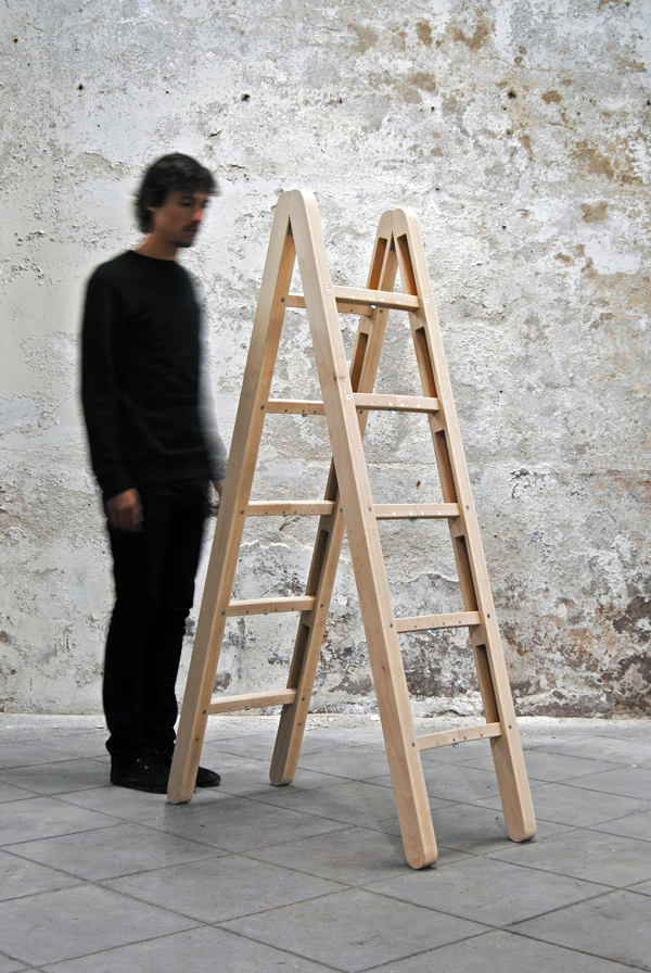 Corner Ladder by Company & Company Design Studio