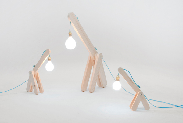 GIFU Lamp Series by María del Pilar Velasco & Pau Stephens