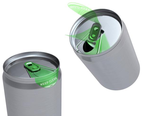 Clean Label – Soda Can Cleaner by Meixian Su, Fengming Chen & Yujie Chen