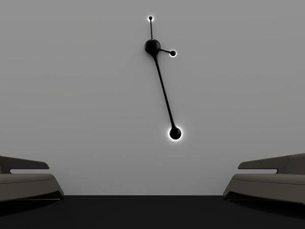 Pendulum Wall Clock by Nuno Teixeira