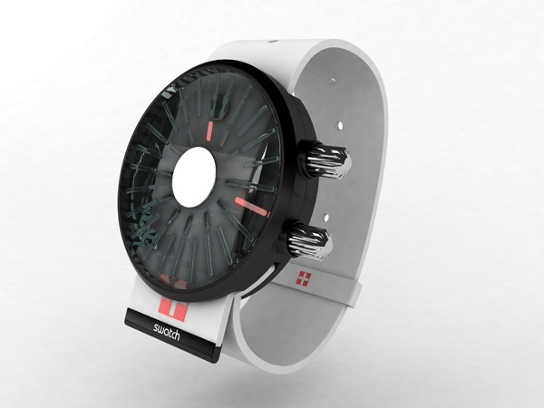 Watch Concept by Ilia Vostrov