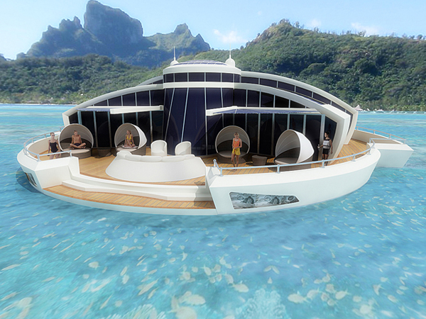 Floating Island On The Move Modern Desert Homes