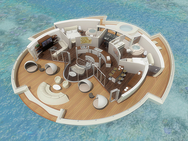 Floating Island On The Move Yanko Design