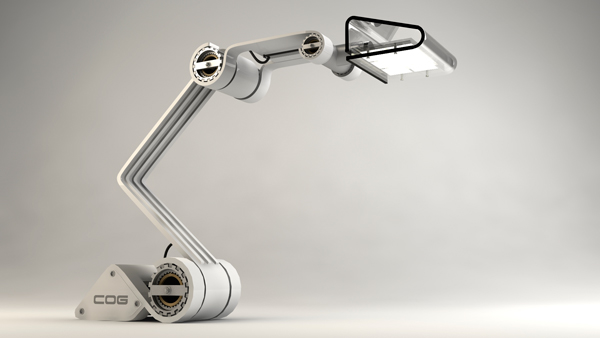COG - Work Lamp by Otto Polefko