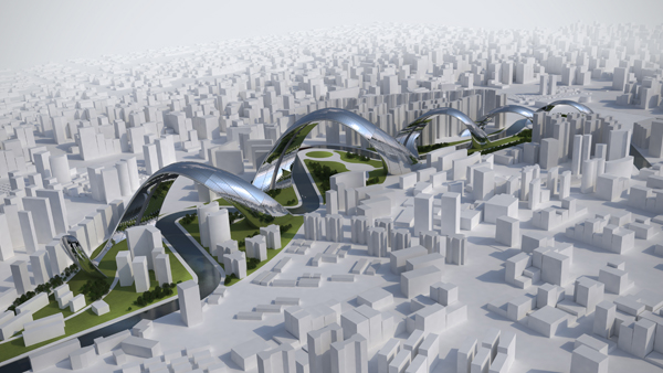 Sity - Shangai Structure by Sonik Module