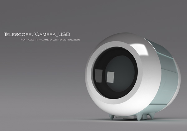 Telescope Camera USB Concept by Steve Lee