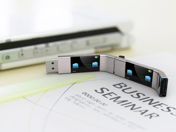 U Transfer – USB Stick Concept by Yiyan Cao