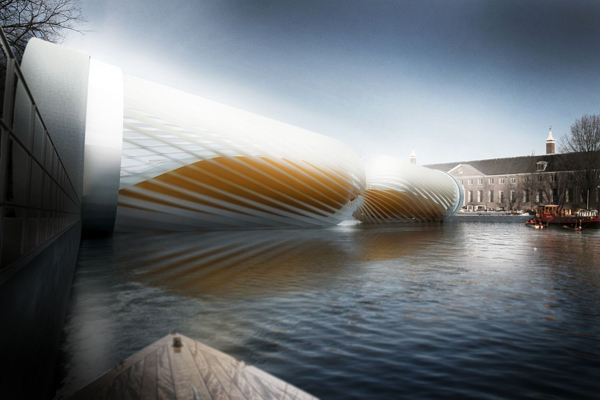 Turbine Bridge by DWAWU Architects