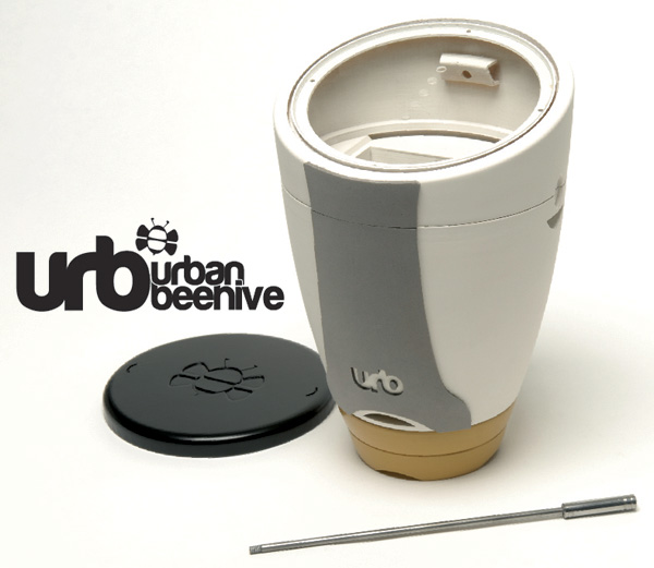 The Urb – Urban Beehive for Homes by Chris Weir