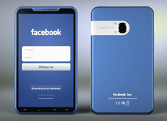 OMG! I Love the Blue Facebook Phone!