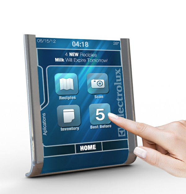 Electrolux Tablet - Kitchen Assistant by Dakoda Reid