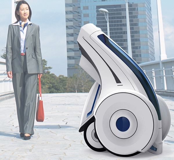 Folding Electric Vehicles for Personal Transport by Peng Huashun