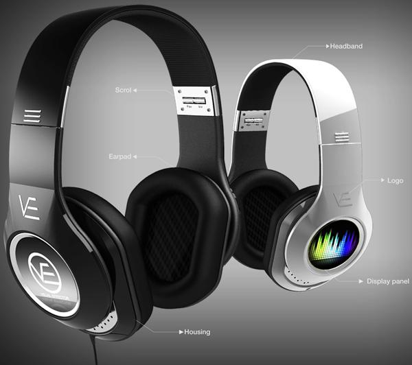 Visual Headphones Yanko Design