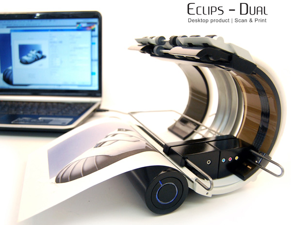 Eclipse-dual Printer by Han S. Hong