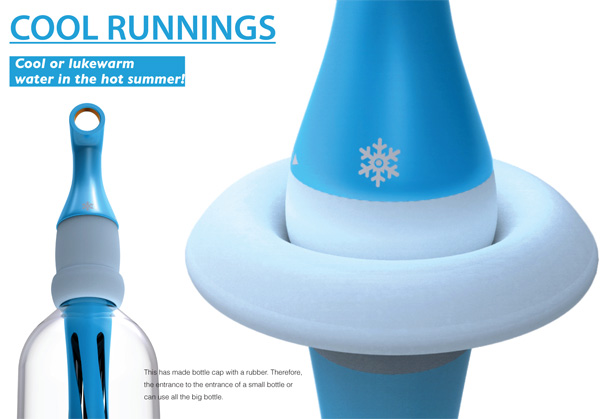 Coolrunnings – Twister Water Cooling System for Individual Bottles by Jaehwa Lee