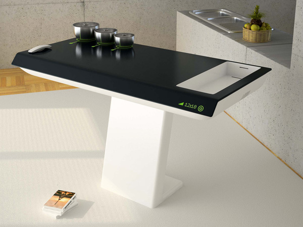 Future Cook – Food Preparation Unit by Aslıhan Tokat