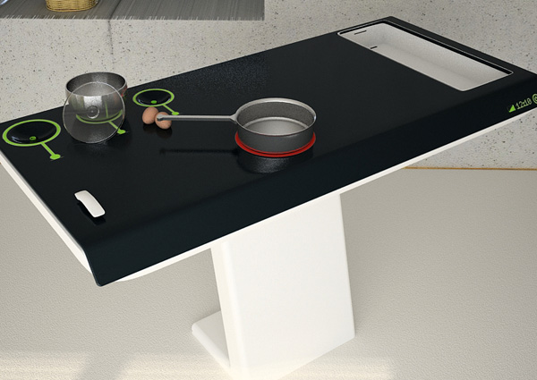 Cook chop clean and serve from a table yanko design for M kitchen world chop wash