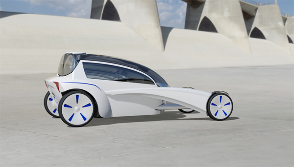 BMW Venture - Concept Car by Chris Hammersley