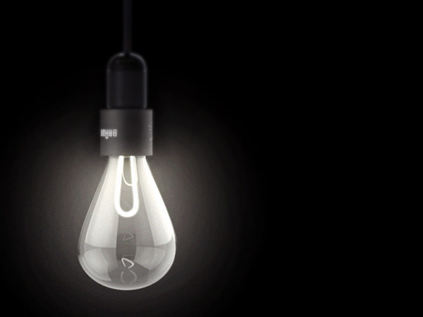 Lit Concept LED Light Bulb by Elie Ahovi