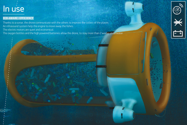 Cleaning Up The Seas With Drones